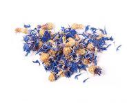 Getrocknete Blüten der blauen Kornblume