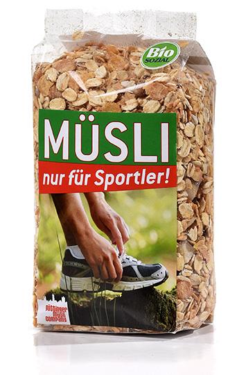 Müsli für Sportler